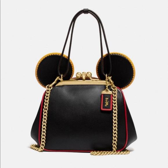 NWT Coach Disney Mickey Mouse x Keith haring